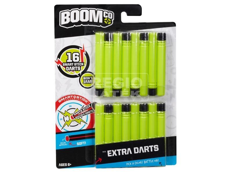 Boom Co 16 darabos extra lövedék készlet - többféle