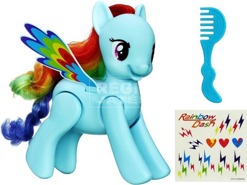 Én kicsi pónim: ugráló és pörgő Rainbow Dash póni