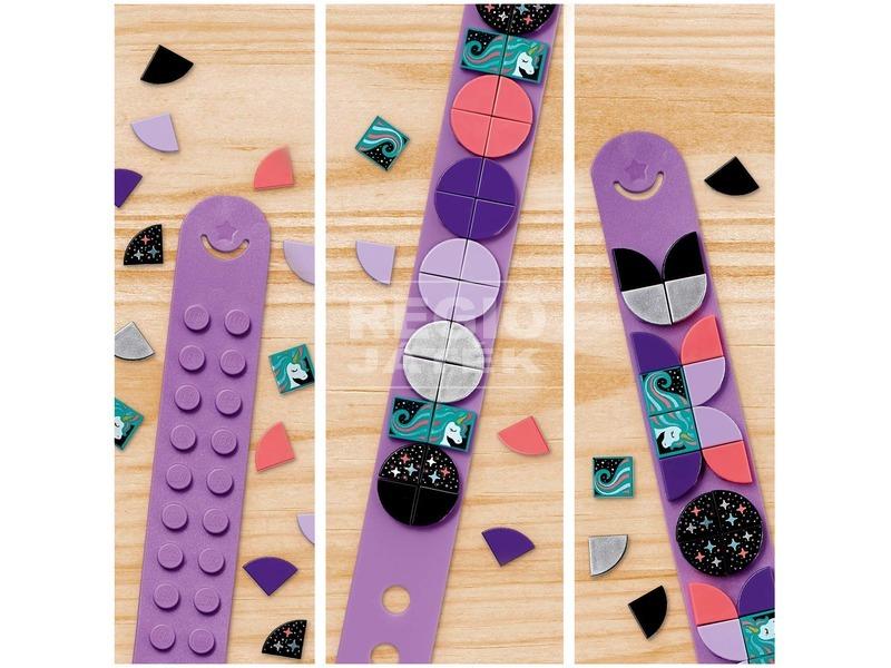 kép nagyítása LEGO® DOTS Csillogó egyszarvú karkötő 41902