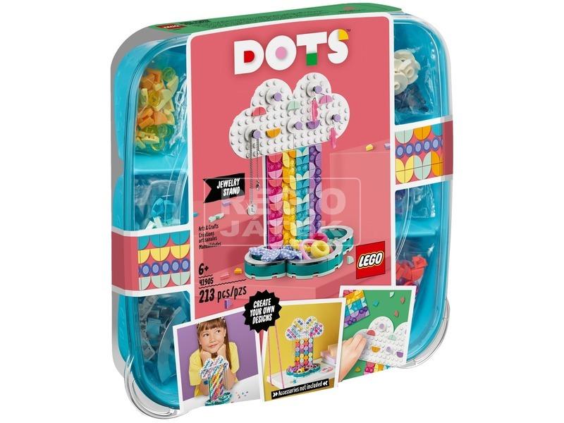 LEGO® DOTS Szivárvány ékszerállvány 41905