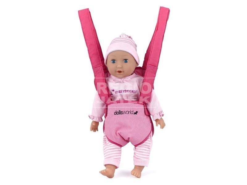 kép nagyítása Babahordozó játékbabához