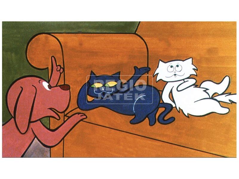 kép nagyítása Frakk és a lusta macskák diafilm 34101526
