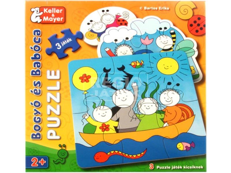 Bogyó és Babóca 3 x 2 darabos puzzle