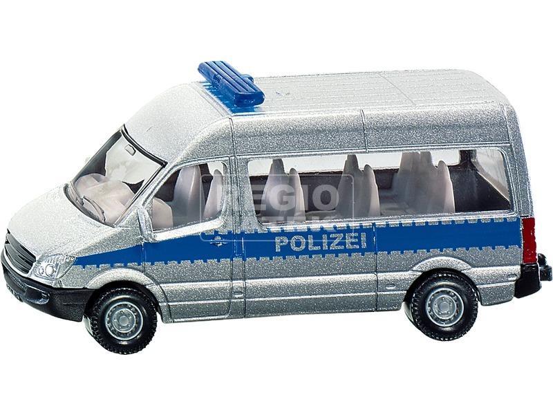 Siku: Mercedes-Benz Sprinter rendőr furgon 1:87