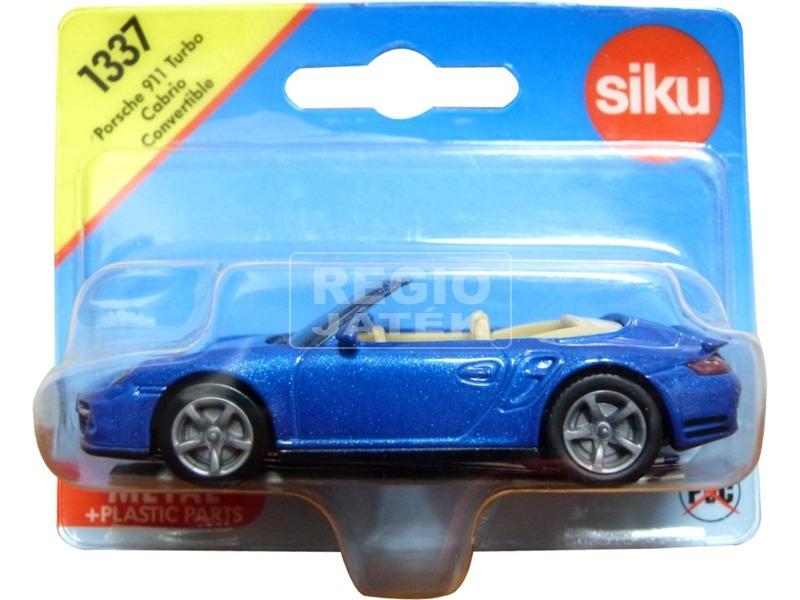 kép nagyítása Siku: Porsche 911 Turbo cabrio 1:55