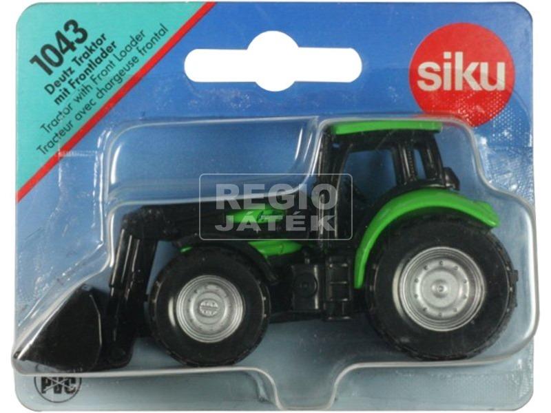 kép nagyítása SIKU Deutz-Fahr markolós traktor 1:72 - 1043