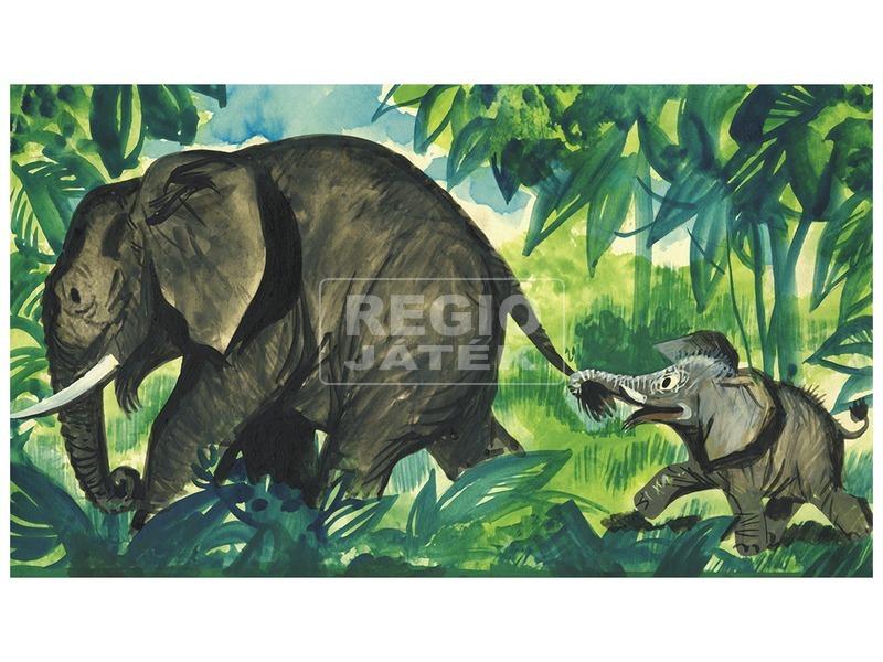 Jumbó, egy kis elefánt kalandjai diafilm 34101151