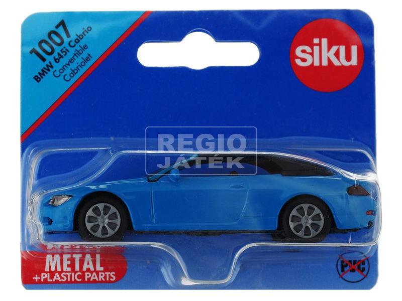Siku: BMW 645i cabrio 1:55 - többféle
