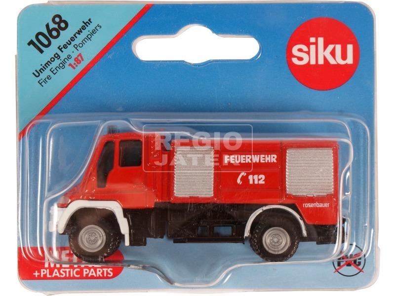 kép nagyítása Siku: Mercedes-Benz tűzoltóautó 1:87 - 1068