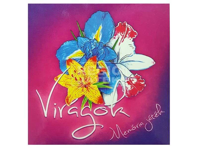 Virágok memória kártya