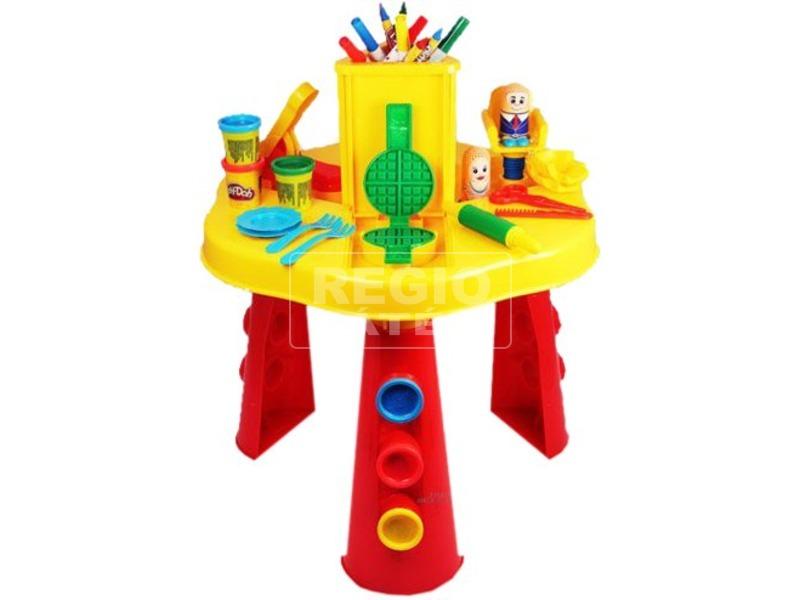 Play-Doh gyurmás alkotó asztal