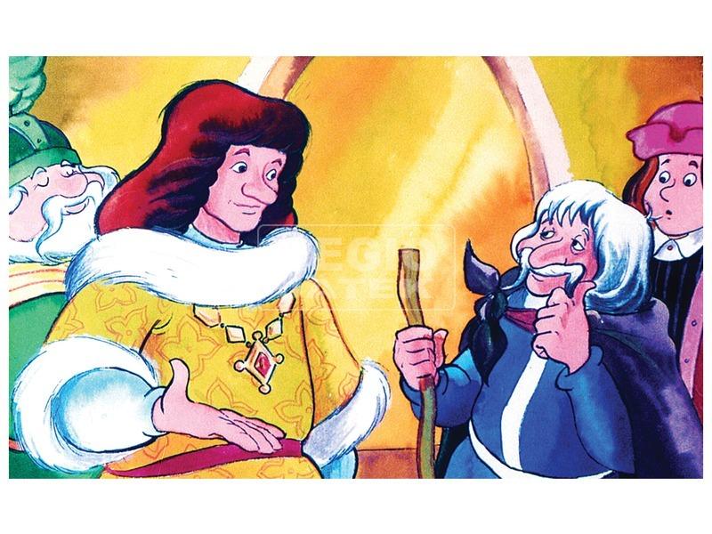 kép nagyítása Mátyás király és a varga diafilm 34100727