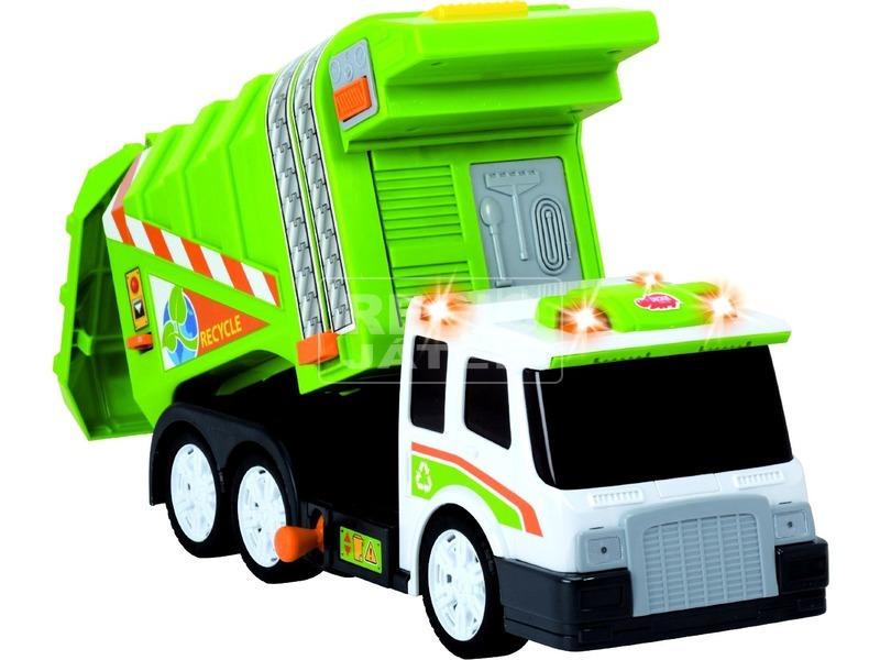 kép nagyítása Dickie Garbage Truck kukásautó - 39 cm