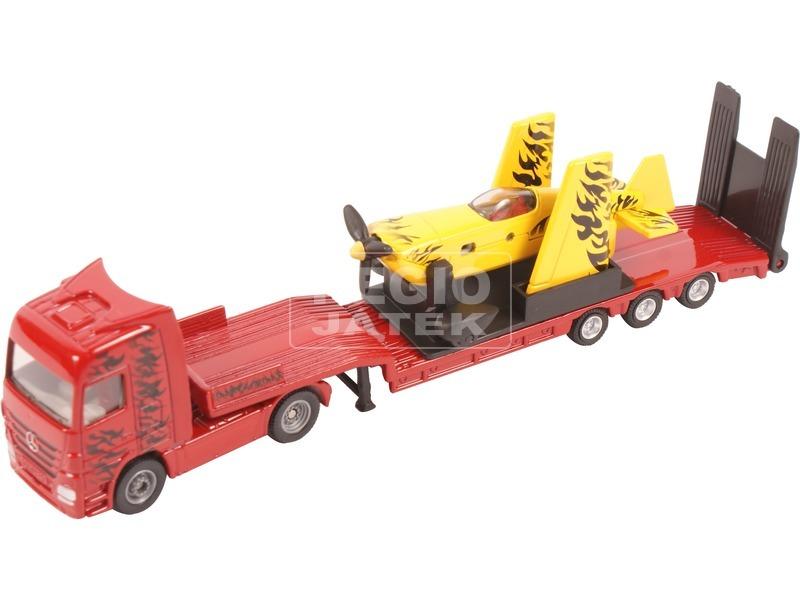 kép nagyítása SIKU: Teherautó sportrepülővel 1:87 - 1866