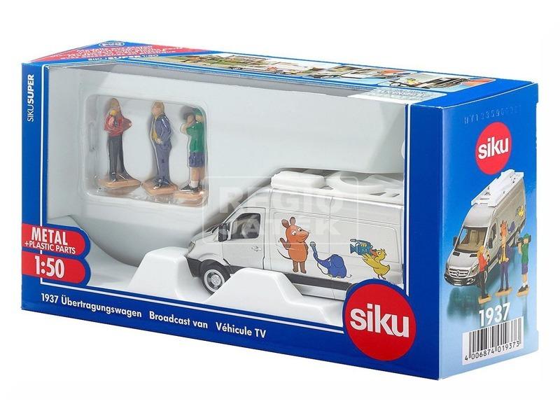 kép nagyítása SIKU: Közvetítő autó 1:50 - 1937