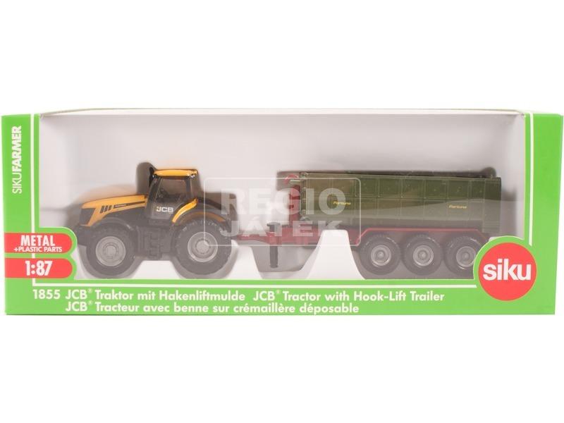 Siku: JCB traktor utánfutóval 1:87 - 1855