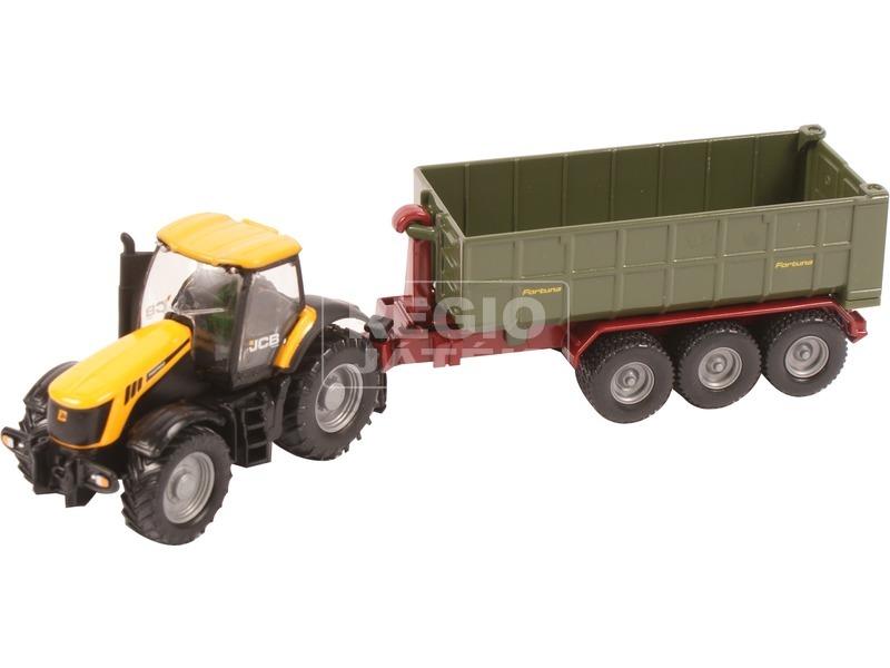 kép nagyítása Siku: JCB traktor utánfutóval 1:87 - 1855