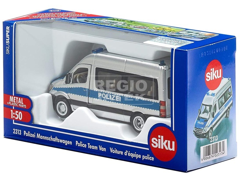 SIKU: Mercedes Sprinter rendőrfurgon 1:50 - 2313
