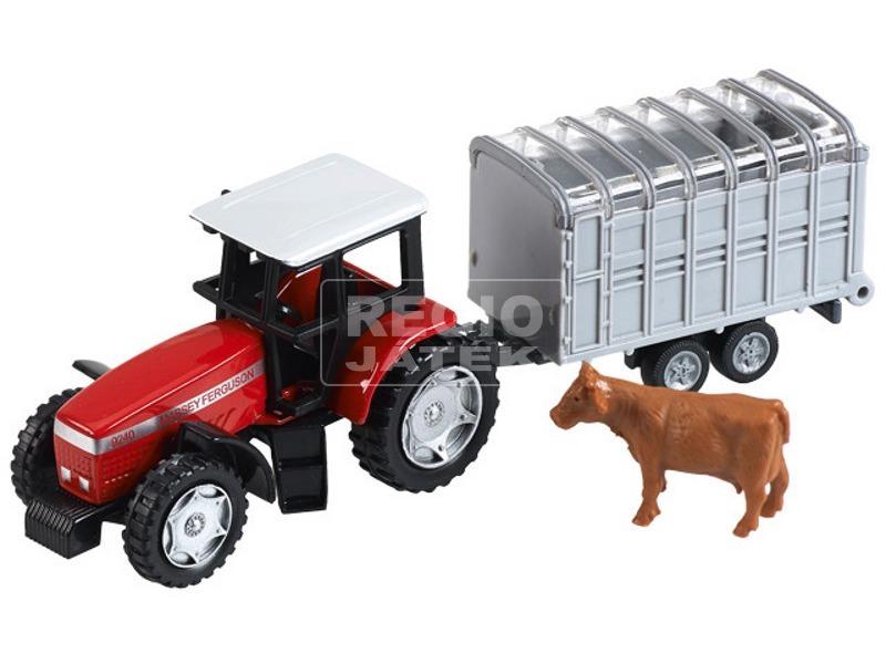 Traktor +állatszállító