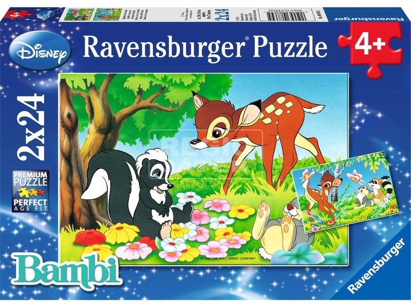 Bambi 2 x 24 darabos puzzle