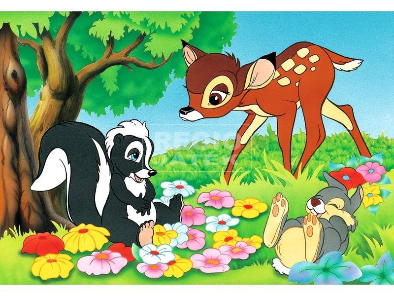 kép nagyítása Bambi 2 x 24 darabos puzzle