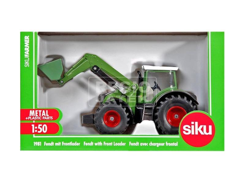 Siku: Fendt traktor markolóval 1:50 - 1981