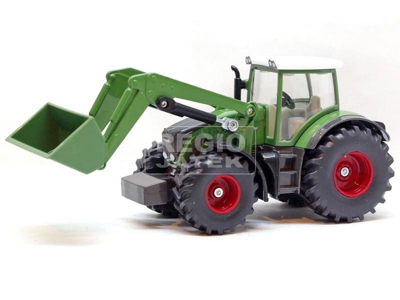 kép nagyítása Siku: Fendt traktor markolóval 1:50 - 1981