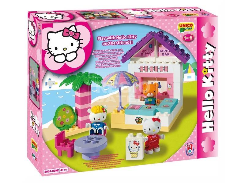 Hello Kitty strand bár 41 darabos építőjáték