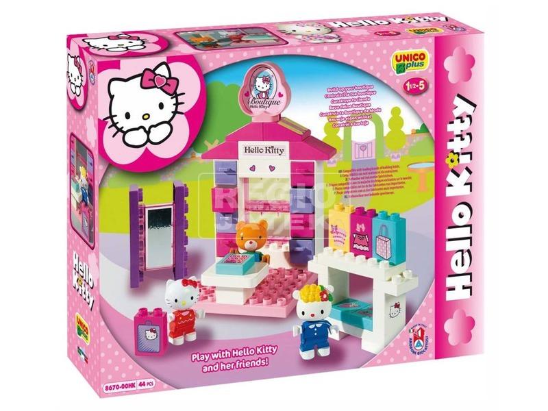 Hello Kitty butik 44 darabos építőjáték