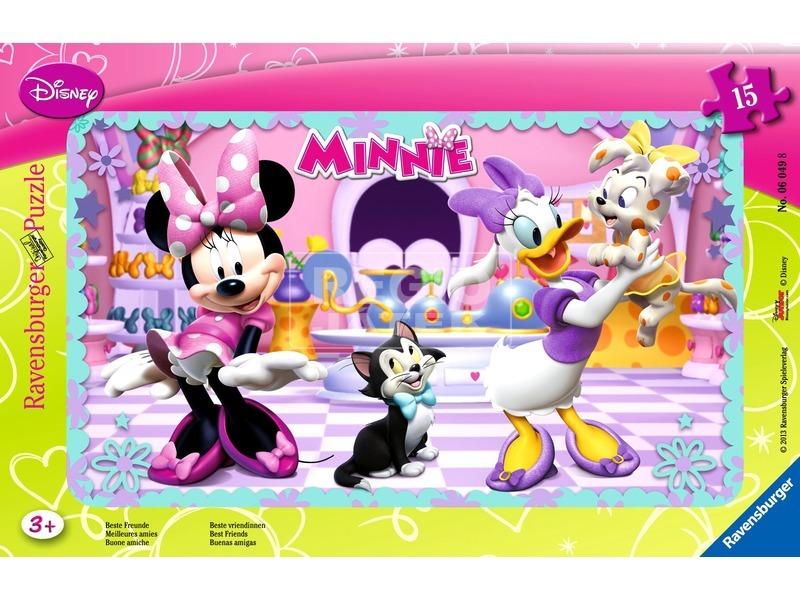 Minnie egér 15 darabos puzzle
