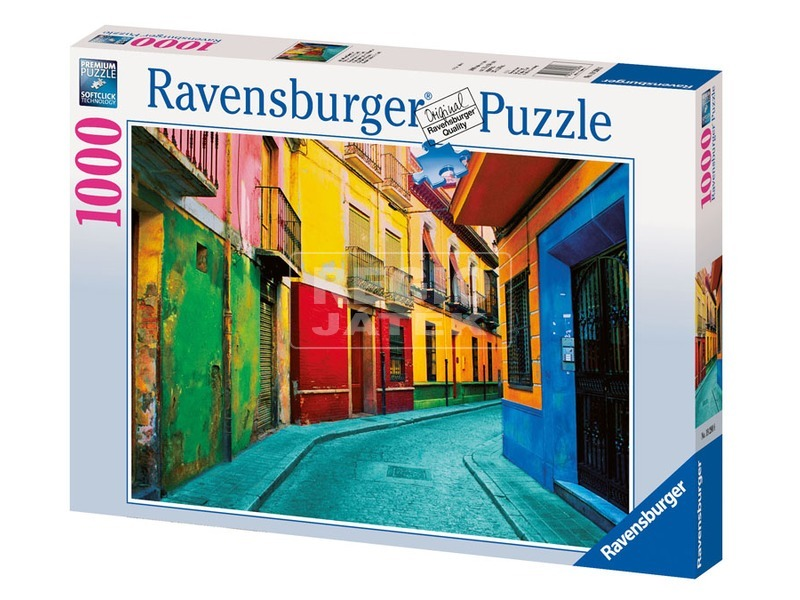Granada utcaképe 1000 darabos puzzle