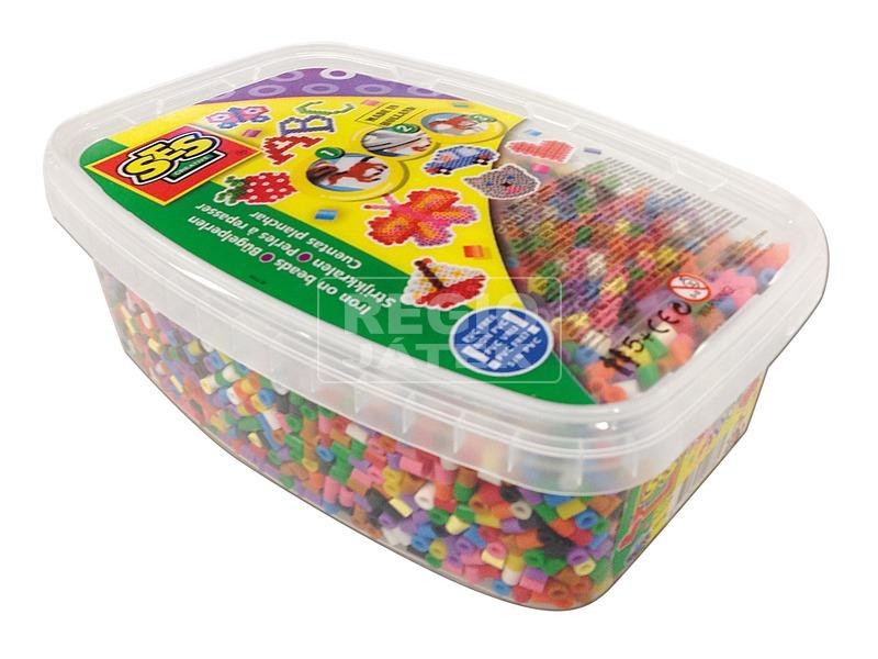 SES vasalható gyöngy 7 000 darabos készlet dobozban