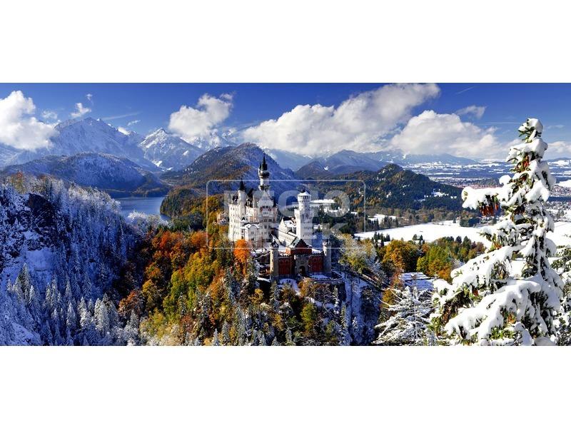 Neuschwanstein-i kastély 2000 darabos puzzle