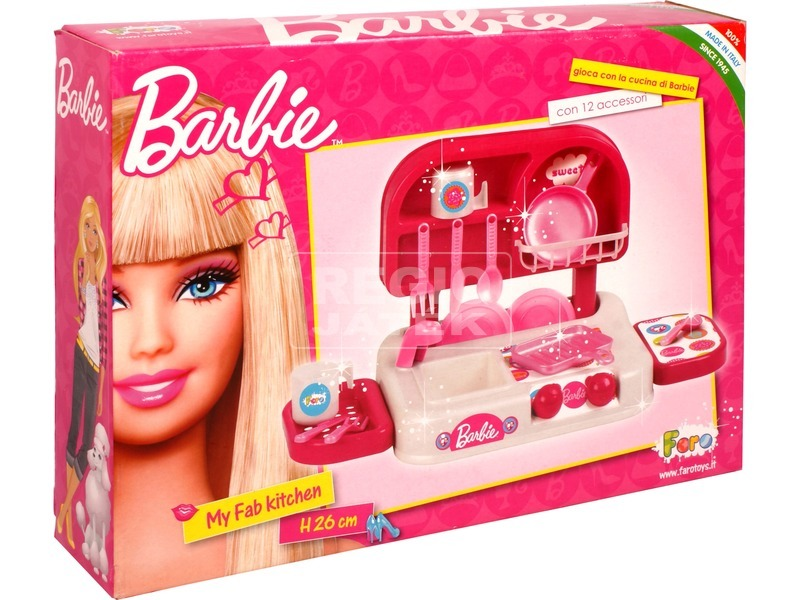 Barbie: mini konyha