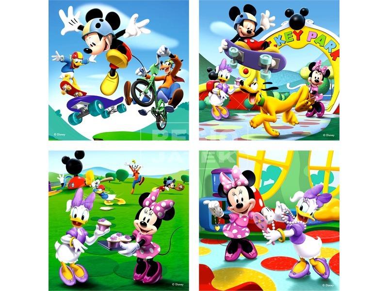 Mikiegér 2 x 25 és 2 x 36 darabos puzzle