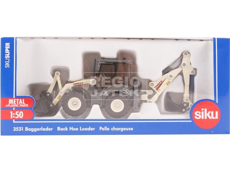 SIKU: Terex markolós traktor 1:50 - 3531