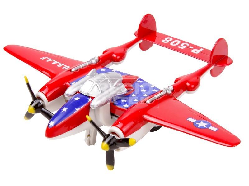 kép nagyítása P-508 fém repülőgép - 12 cm, többféle