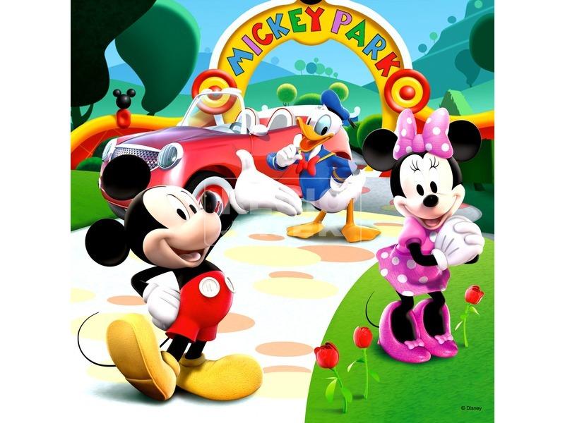 kép nagyítása Mikiegér játszóháza 25, 36 és 49 darabos puzzle