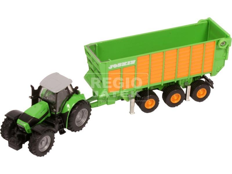 kép nagyítása SIKU: Deutz-Fahr traktor Joskin utánfutókkal 1:87