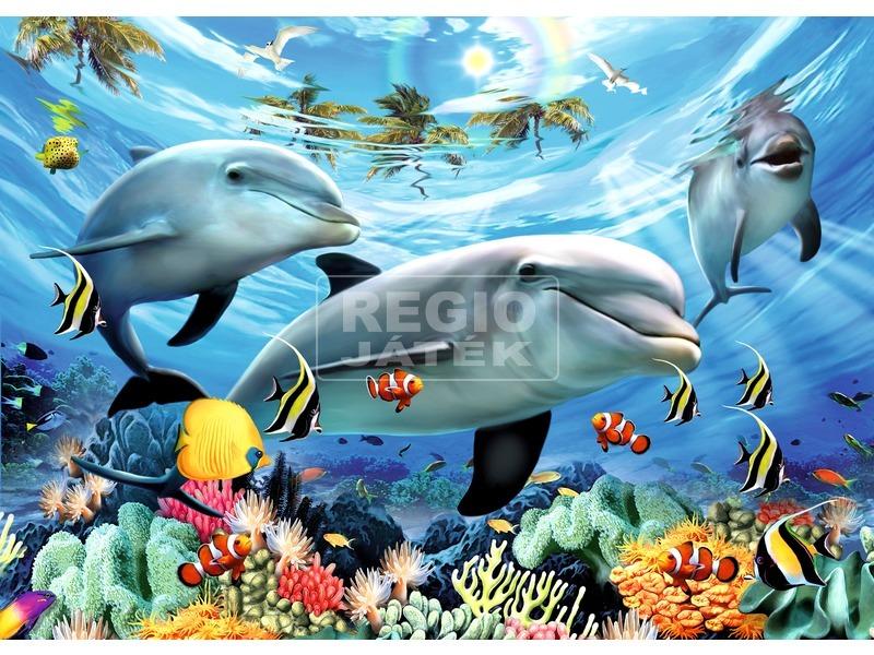 Delfinek 300 darabos XXL puzzle