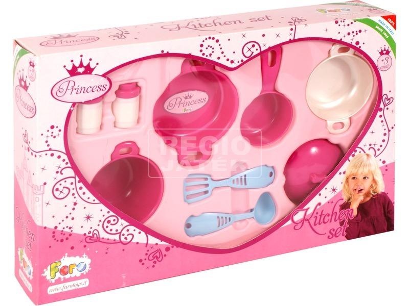 Hercegnős 8 darabos edénykészlet