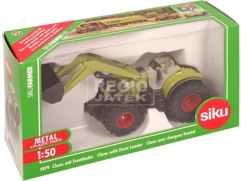 SIKU: Claas Axion 850 markolós traktor 1:50 - 1979