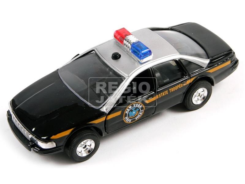 Rendőrautó, világító, szirénázó