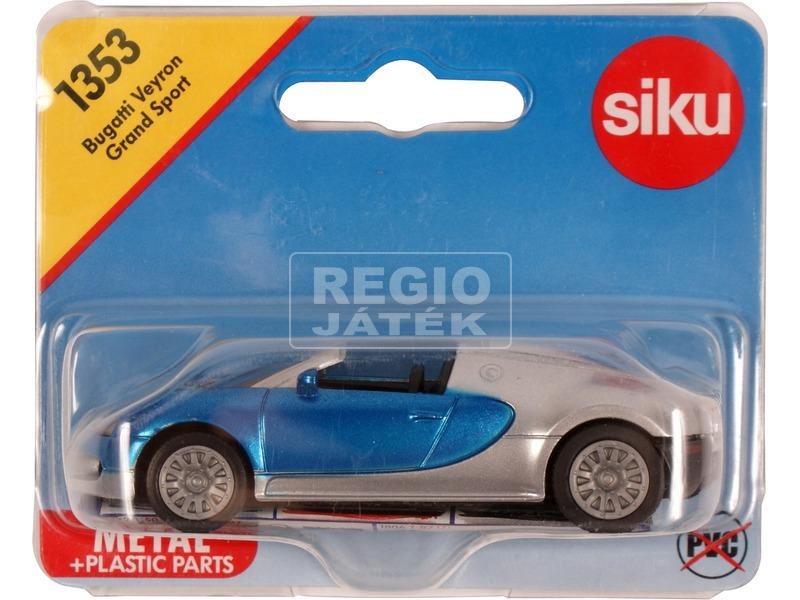 kép nagyítása SIKU Bugatti Veyron Grand Sport 1:55 - 1353
