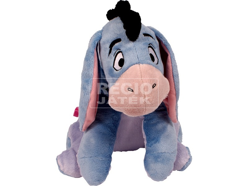 Minnie egér Disney plüssfigura rózsaszín ruhában - 25 cm