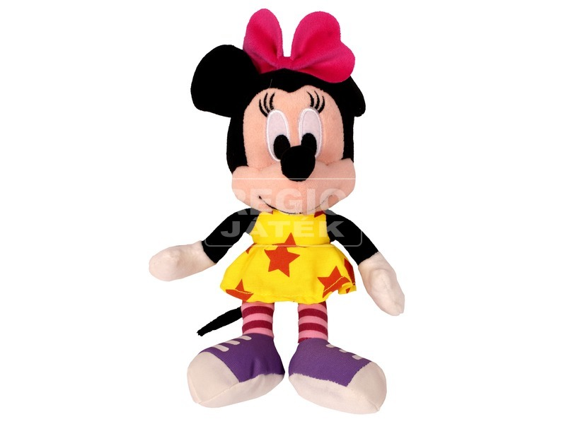 Minnie egér Disney plüssfigura tavaszi ruhában - 20 cm
