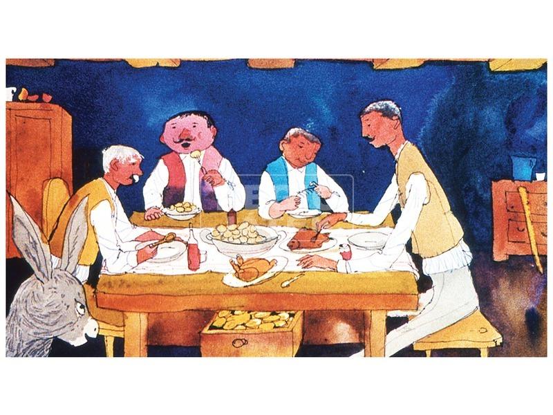 kép nagyítása Nyakigláb, Csupaháj és Málészáj diafilm 34102158