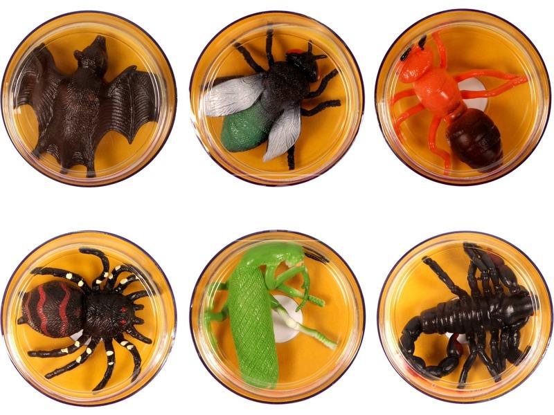 Nyújtható bogár - 7 cm, többféle