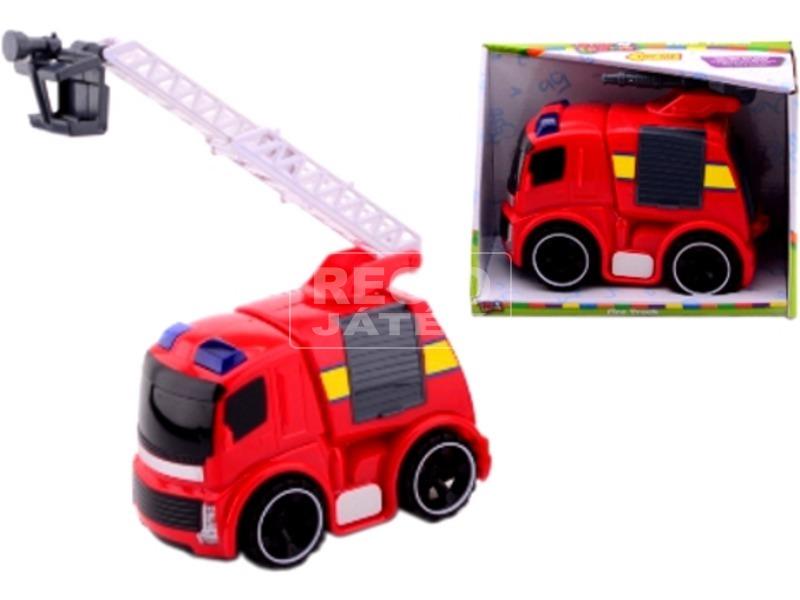Tűzoltó autó hanggal és fénnyel - 22 cm, többféle