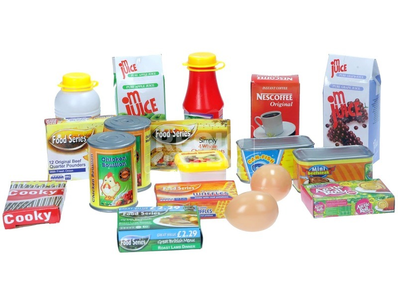 Szupermarket élelmiszer 18 darabos készlet